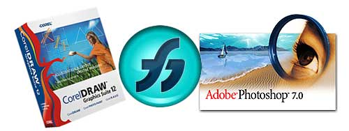 Plantilla de photoshop para CD y DVD