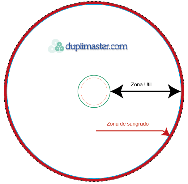 DVD or CD disc template tiny image