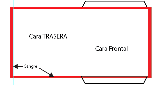 Carboard envolope template tiny image