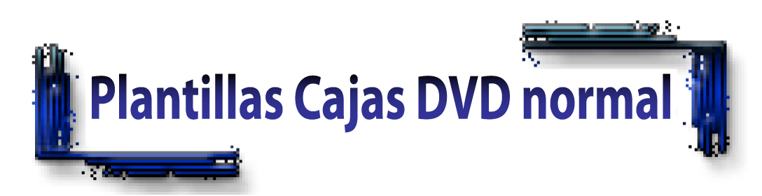 Regular Comfort pack box (DVD box) template