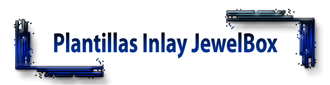 Jewel box inlay template